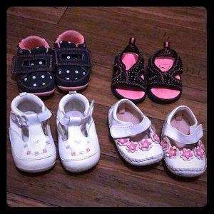Other - Baby girl shoes bundle